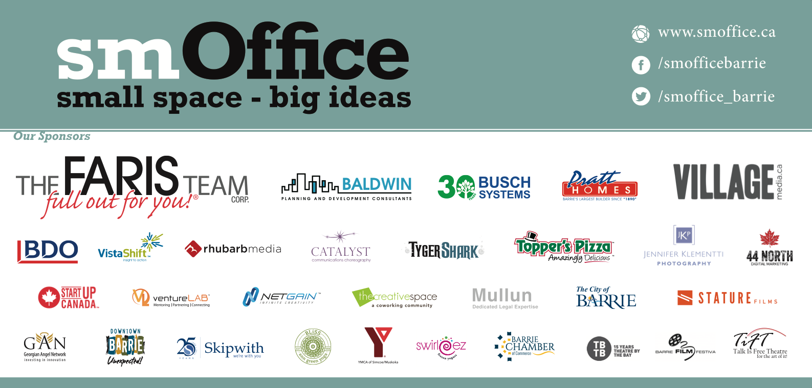 Our 2016 smOffice Sponsors
